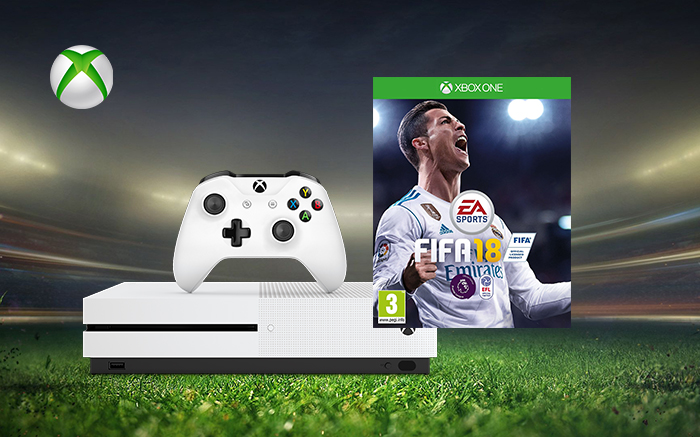 xbox one s fifa 18 triffiq. Black Bedroom Furniture Sets. Home Design Ideas